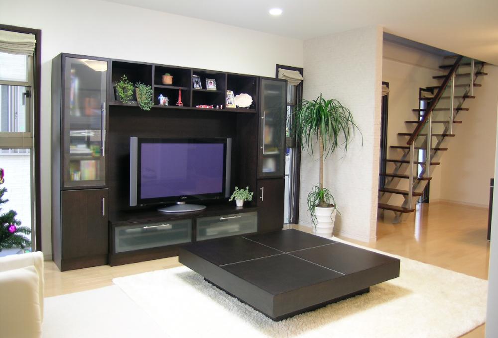 テレビキャビネット 2400 リビングテーブル大